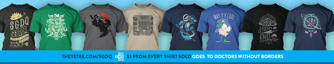 Yetee Shirts on sale for charity!